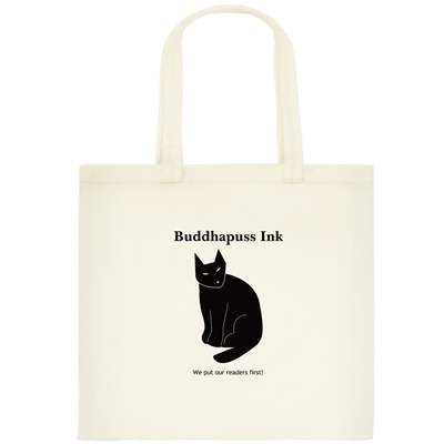cat tote for readers
